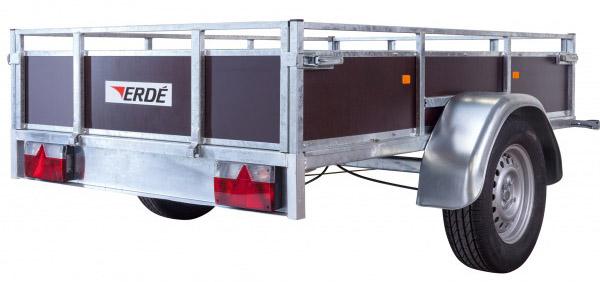 Remorque ERDE LC200 BOIS